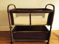 Bassinet is in great condition. It is very practical