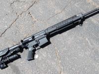 We have a LIKE NEW Armalite SUPER SASS Semi Auto Rifle