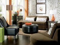 The casual Connection sofa, Chair & Ottoman offer