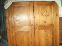 I have a close to brand new entertainment cabinet in