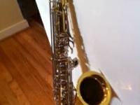 Wonderful Armstrong Tenor Saxophone for sale. Just