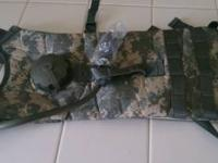 Brand new never used acu camouflage pattern manfactured