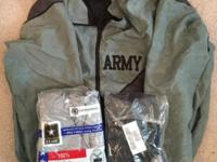 I have the following for sale:Jacket, Army, PFU (Size: