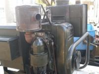 Selling a 1962 Army Generator DC engine MFG. Wisconsin,