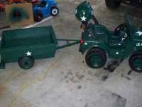 I have a power wheel I modified several years ago. Its