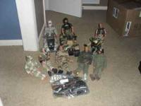 "Army Soldier play set. Dolls are 11"" tall. Includes"