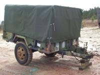 Army Trailer on very good condition! $1200, cash If