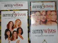 Army Wives - Seasons 1 - 4 Mint Condition Great for