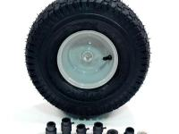 Use the Arnold 15 in. Universal Front-Rider Wheel for