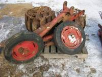 ARPS HALF-TRACKS FOR TRACTOR, MOUNTS TO FIT ALLIS