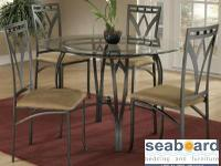 The Arrow Dinette and Four Chairs 5 Pc Dinette Set.