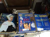 My collection of the Art & Antiques Magazine, June 1985
