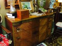 We have a great Art Deco Chest in our Shop. $379.00.