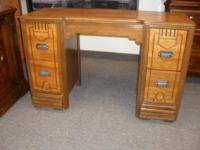 Beautiful art deco desk which could also be used as a