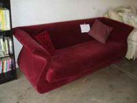 In very good condition, this couch needs a new home!
