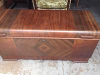 This is a Genuine Lane Cedar chest. In exceptional