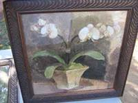 have 2 pieces of art in beautiful frames paid 70 for
