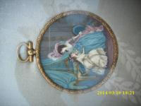 Art Miniature Huge Framed Cameo $ 1800 Huntington