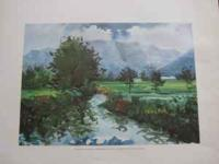 Alvarido - Highlands: Watercolor on Paper - Private