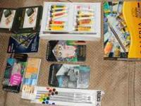 Today and Today only I am selling this art supplies.