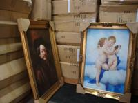 Fine Art Frames Museum Quality Majestic Gold Timber
