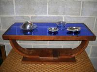 Wonderful original Art Deco Coffee Table with rare and