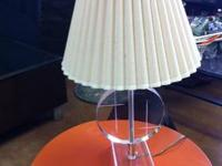 Art Deco Lucite Table Lamp $45 Each Chabad Thrift