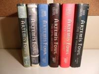 I have for sale the first six books of the Artemis Fowl