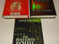 Up for sale are 3 hardcover Artemis Fowl Books. These