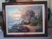 "A New Day Dawning (""Romance of the Sea I"") A cottage by"