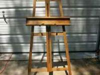 This is a very nice Anco-Bilt Artist's Field Easel. 75""