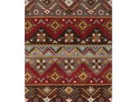 The Dillon Rust Wool 2 ft. 6 in. x 8 ft. Runner offers