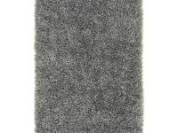 Hand woven in 100% polyester, this shag rug is ultra