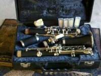 Selling an Artley clarinet in excellent condition. $150
