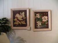 Assortment of beautiful artwork, some original, various