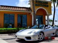 Payment as low as $785 per mo. w/a/c!!2005 Ferrari 360
