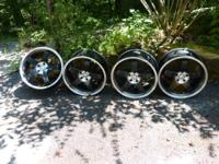 I have four 5-spoke ASA wheels. They were on my