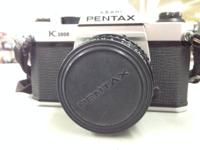 The Pentax K1000 is an easy to use Film SLR that is