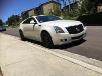 2011 Cadillac CTS coupe. Great condition. No accident,