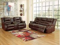 Double Reclining Sofa and Loveseat #952 by Ashley