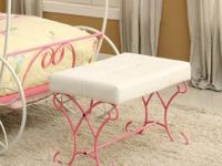 Fairy tale inspired designPadded leatherette seatSturdy
