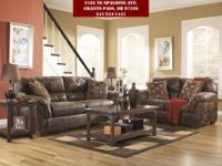 "The ""Frontier-Canyon"" upholstery collection functions"