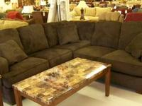 Ashley Furniture Atmore Chocolate Sectional   LaPorte, IN