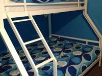 We are selling a steel frame bunk bed that we got from