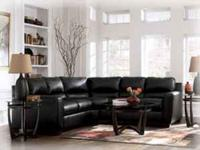 Ashley Leather Sectional   $679 (winner Furniture 2530.