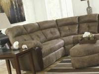 THIS IS A SUPER COMFY SECTIONAL WITH LOADS OF STYLE ...
