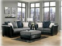 THIS SECTIONAL COMES IN GRAY/BLACK TONES OR BROWN EARTH