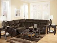 i have a brown suede / leather reclining sectional