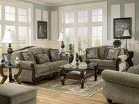 $1195 Martinsburg Meadow Living Room SOFA AND LOVESEAT