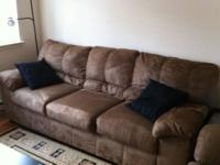 "Looking to sell a Yr Old ""Three Seater Sofa"" and a"
